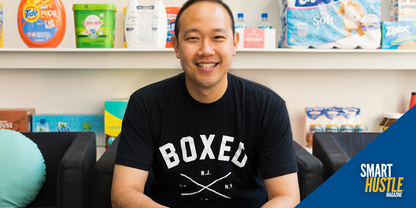 Boxed CEO Chieh Huang Shares Tips to Go from Garage Startup to Acquisition