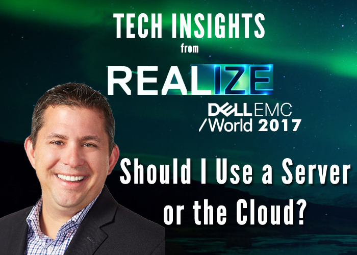 tech insights - should i use a server or the cloud