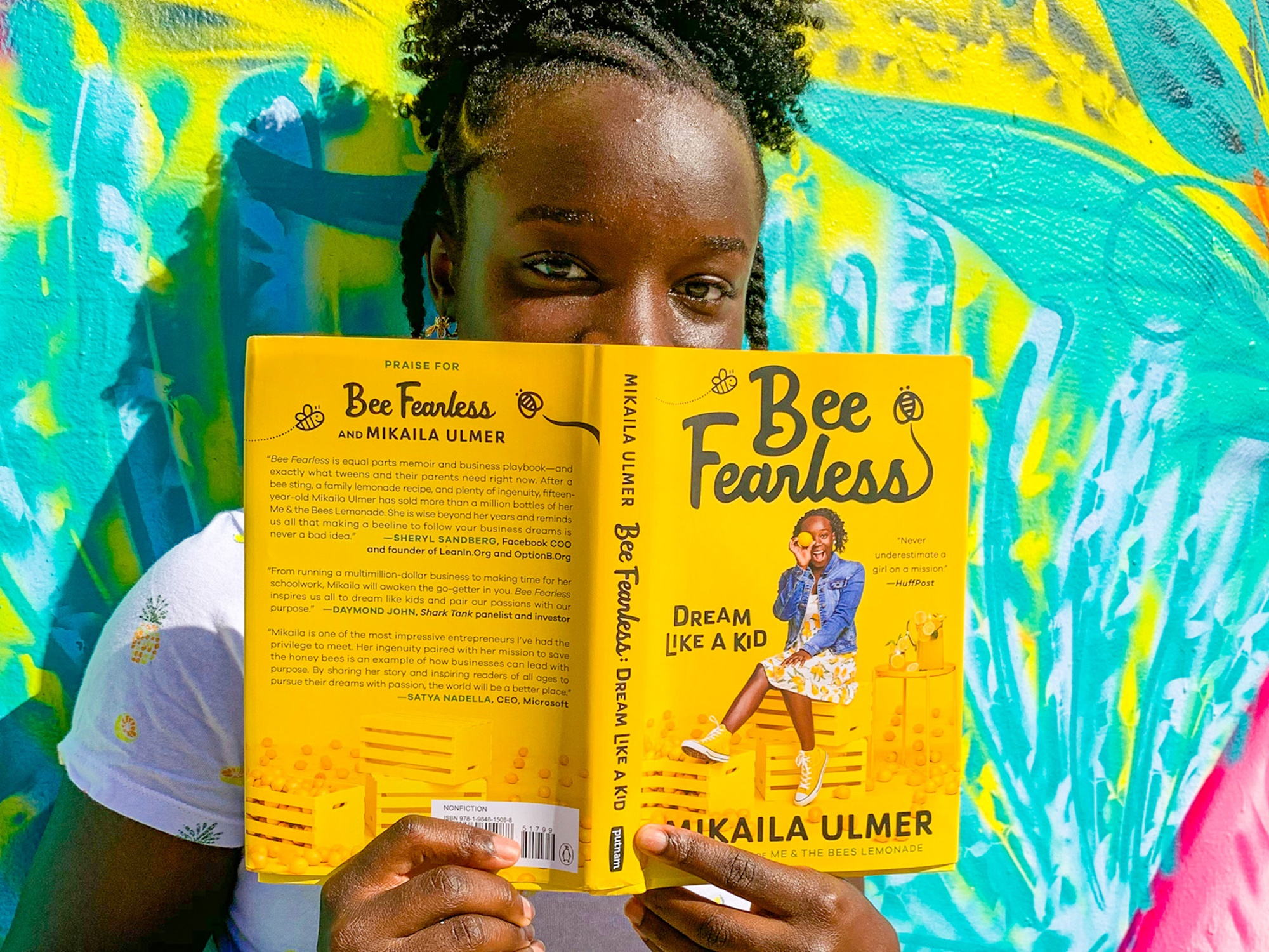 Mikaila Ulmer Bee Fearless Dream Like a Kid Me & the Bees