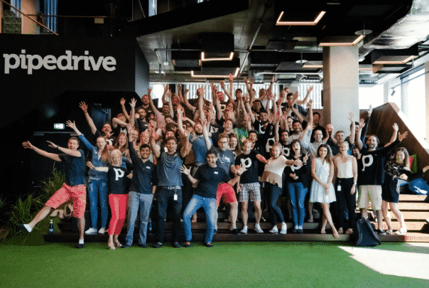 crm for sales pipedrive team